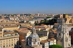 罗马和梵蒂冈都市风景 免版税库存照片