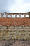 罗马圆形剧场在澳门,中国 免版税库存图片