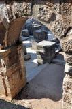 罗马圆形剧场,在普拉,克罗地亚的colosseum 库存照片