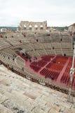 罗马圆形露天剧场在维罗纳, 图库摄影