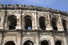 罗马圆形露天剧场,尼姆 免版税库存图片