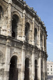 罗马圆形露天剧场,尼姆 库存照片