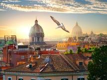 罗马圆顶  库存图片