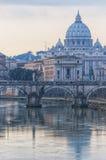 罗马圣彼得大教堂02 图库摄影
