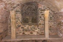 罗马地下墓穴 库存图片