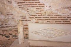 罗马地下墓穴 图库摄影