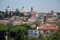 罗马地平线 库存照片
