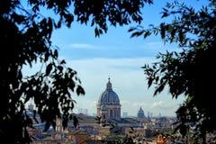 罗马地平线 免版税库存图片