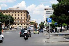 罗马城市生活 罗马市看法2014年6月1日的 免版税库存照片