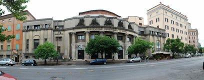 罗马城市生活 罗马市看法2014年5月31日的 免版税库存照片