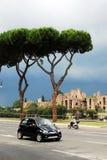 罗马城市生活 罗马市看法2014年5月31日的 图库摄影