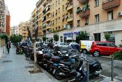 罗马城市生活 罗马市看法2014年5月31日的 库存图片