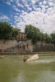 罗马城市视图  库存照片