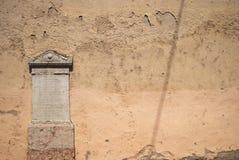 罗马墓碑 免版税库存照片