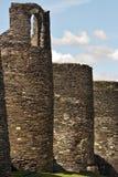 罗马墙壁。 库存图片