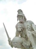 罗马夜战士 库存图片