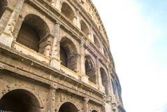 罗马大剧场的看法 库存图片
