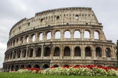 罗马大剧场 免版税库存图片