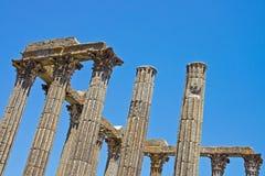 罗马大厦列 库存图片