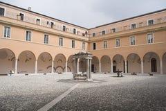 罗马大学 免版税库存照片