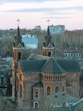 罗马天主教堂在尼古拉耶夫州,乌克兰 库存照片