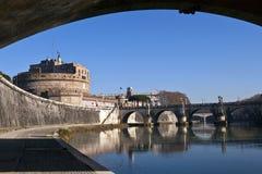 罗马天视图 库存照片