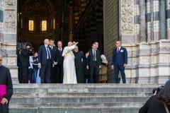 罗马天主教堂的弗朗西斯教皇正式代表出现  库存照片