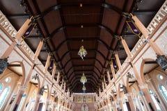 罗马天主教堂,尖竹汶府 免版税库存图片