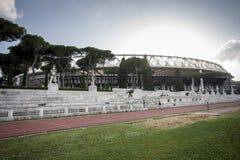 罗马奥林匹克体育场二罗马 免版税库存照片