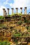 罗马寺庙废墟在科多巴,西班牙 免版税图库摄影