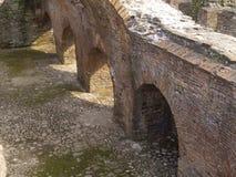 罗马尼亚人废墟 库存照片