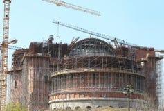 罗马尼亚人People's救世大教堂 免版税库存照片