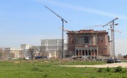 罗马尼亚人People's救世大教堂 免版税库存图片