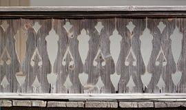 罗马尼亚传统篱芭 免版税库存照片
