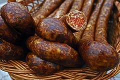 罗马尼亚传统食物10 免版税库存照片