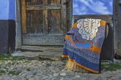 罗马尼亚传统工艺品 免版税图库摄影