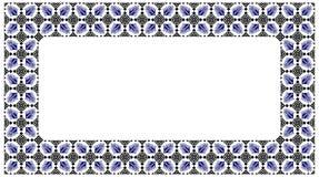 罗马尼亚传统框架 免版税库存照片