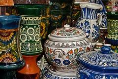 罗马尼亚传统陶瓷2 免版税库存图片