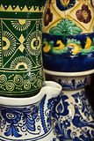 罗马尼亚传统陶瓷13 免版税库存照片