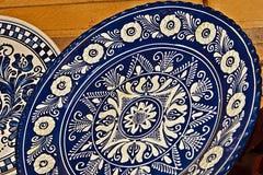 罗马尼亚传统陶瓷18 库存图片
