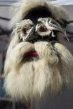 罗马尼亚传统面具 免版税图库摄影