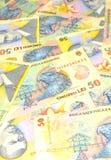罗马尼亚列伊 免版税图库摄影