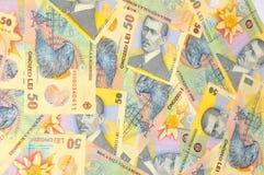 罗马尼亚列伊 免版税库存图片