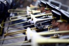 罗马尼亚国庆节战士 免版税库存图片