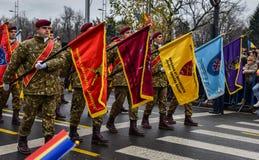 罗马尼亚国庆节, 2017年12月1日 库存照片