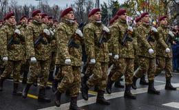 罗马尼亚国庆节, 2017年12月1日 图库摄影