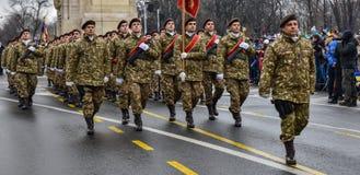罗马尼亚国庆节, 2017年12月1日 库存图片