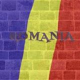 罗马尼亚国庆节 库存照片