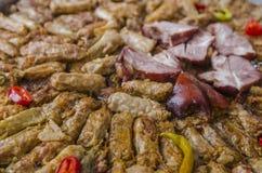 罗马尼亚圆白菜卷 免版税库存图片