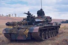 罗马尼亚坦克TR 85M 'Bizonul' 免版税图库摄影